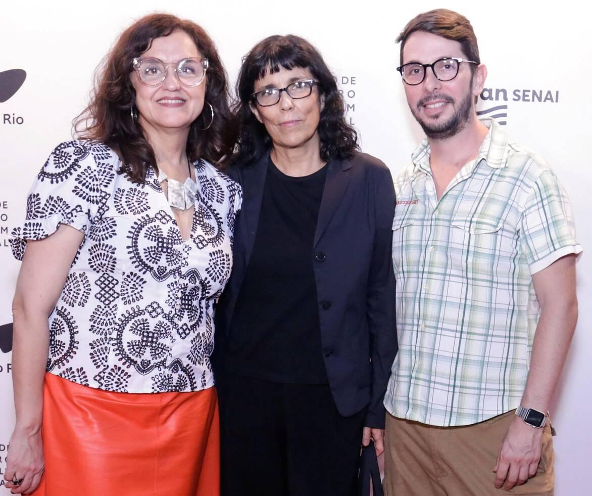 Ilda Santiago, Daniela Thomas e Daniel Van Hoogstraten /Foto: Rogerio Resende