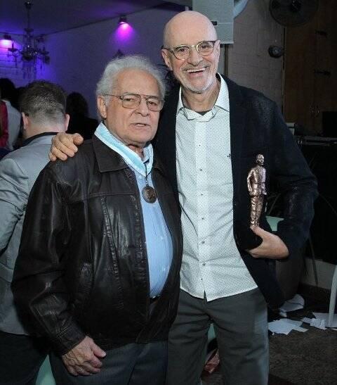 Othon Bastos e Marcos Caruso