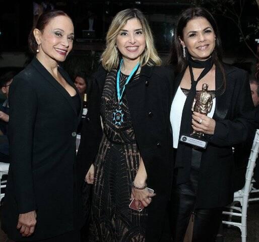 Tânia Alves, Mylena Ciribellii e Andréa Avancini