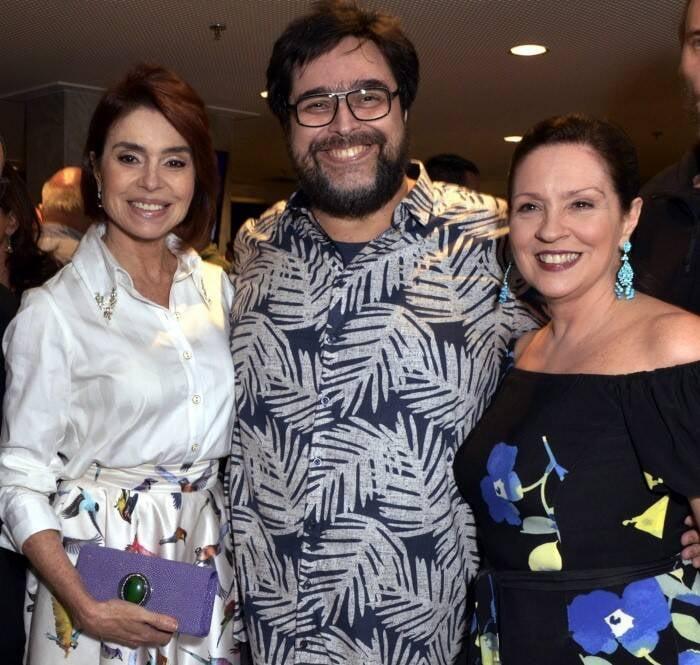 Françoise Forton , Eduardo Bararta e Mônica Albuquerque  /Foto: Cristina Granato