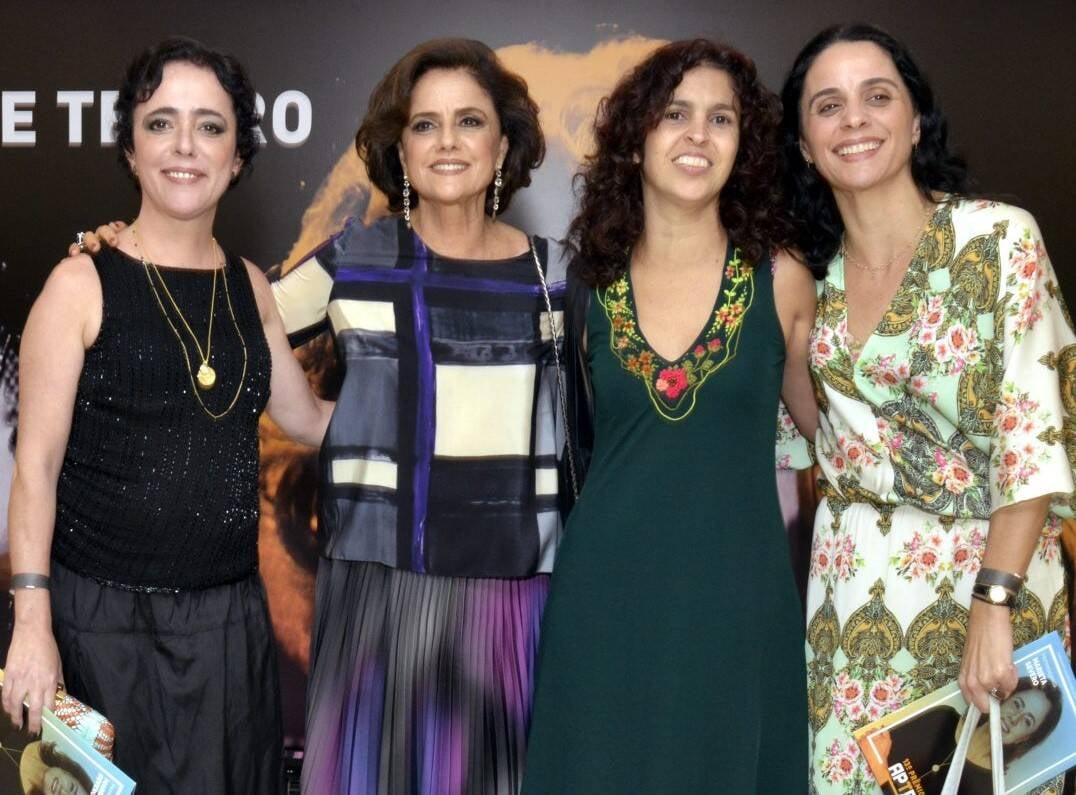 Silvia Buarque,  Marieta Severo, Janaína Diniz e Helena Buarque  /Foto: Cristina Granato