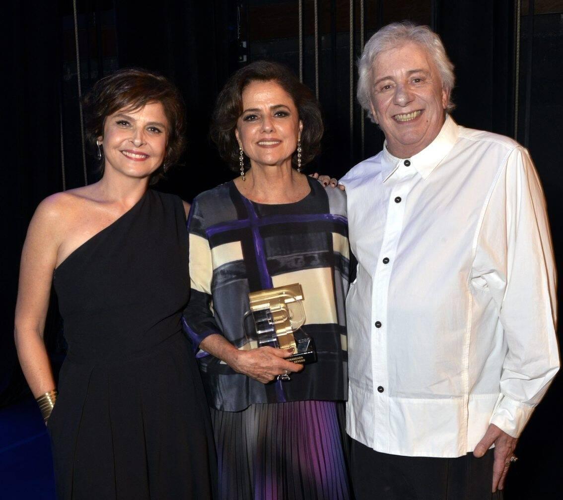 Drica Moraes, Marieta Severo e Marco Nanini  /Foto: Cristina Granato