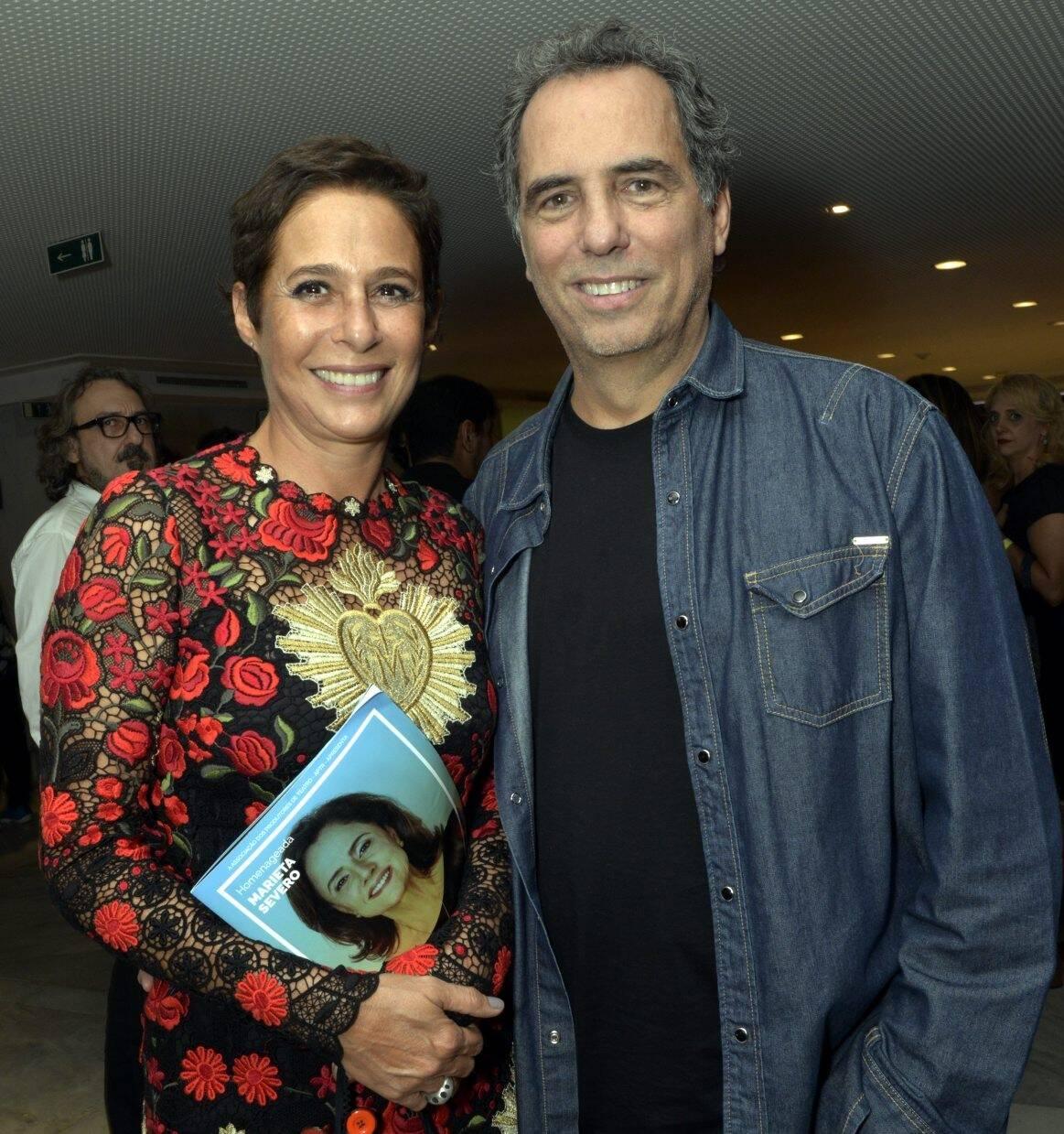 Andrea Beltrão e Maurício Farias  /Foto: Cristina Granato