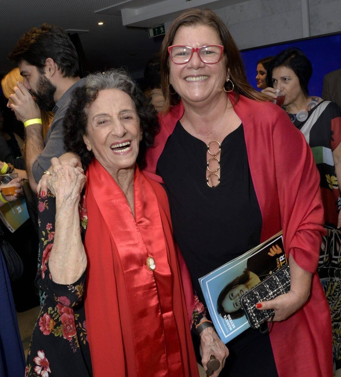 Angel Vianna e Andrea Pachá  /Foto: Cristina Granato