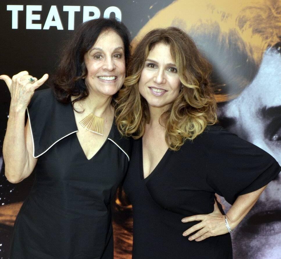 Stella Miranda e Verônica Sabino  /Foto: Cristina Granato