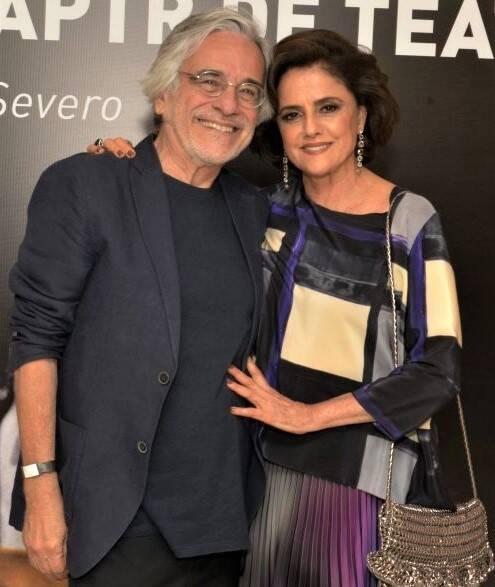 Aderbal Freire Filho e  Marieta Severo  /Foto: Cristina Granato