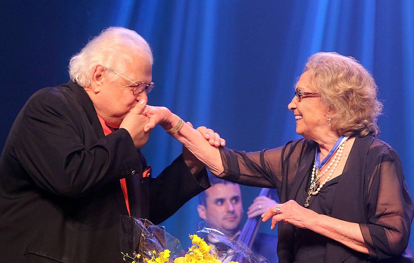 Carlos Alberto Serpa e Eva Wilma /Foto: Eny Miranda