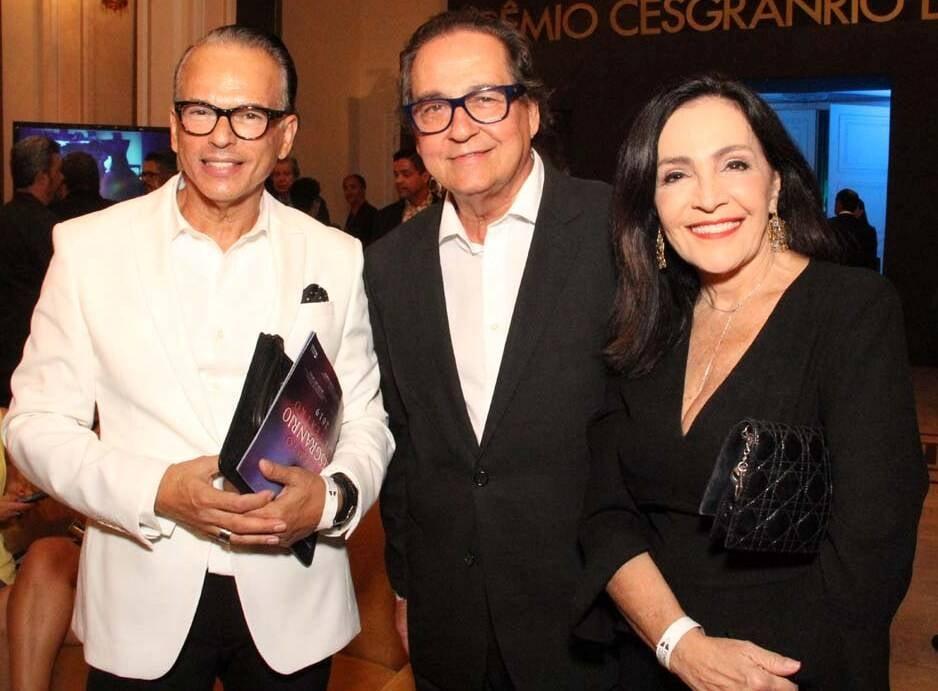 Heckel Verri, Nestor Rocha e Liliana Rodriguez /Foto: Veronica Pontes