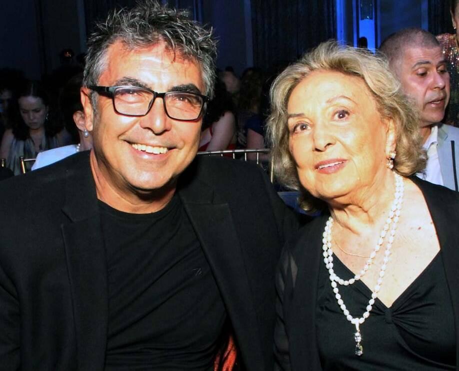 John Herbert Filho e a mãe Eva Wilma /Foto: Veronica Pontes