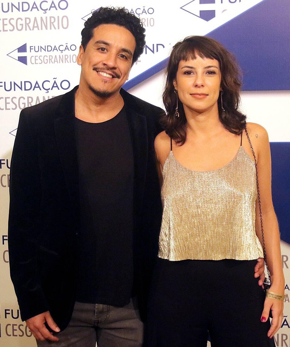 O casal Marco Gonçalves e Andreia Horta /Foto: Eny Miranda