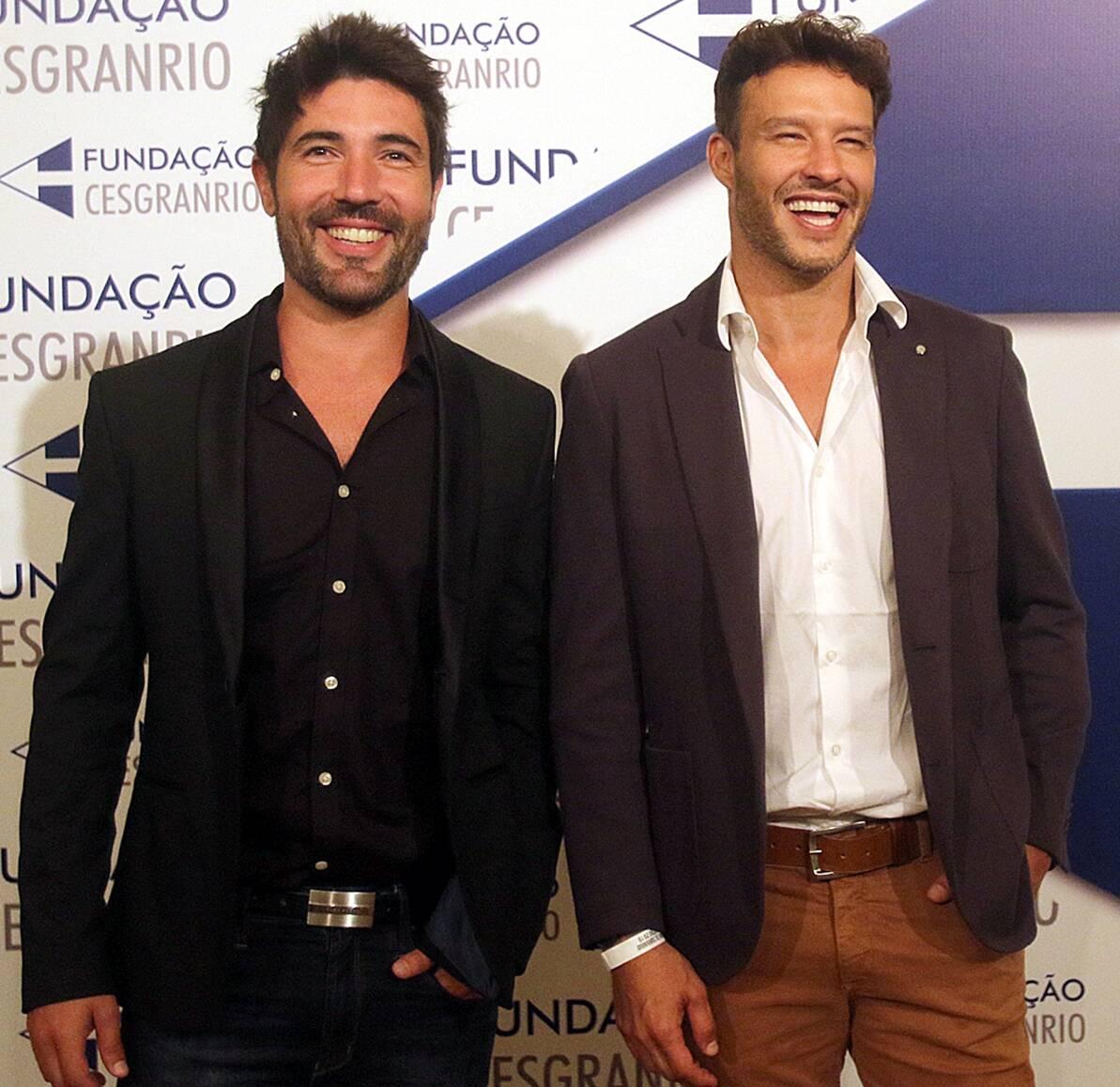 Os atores Sandro Pedroso e Nando Rodrigues /Foto: Eny Miranda