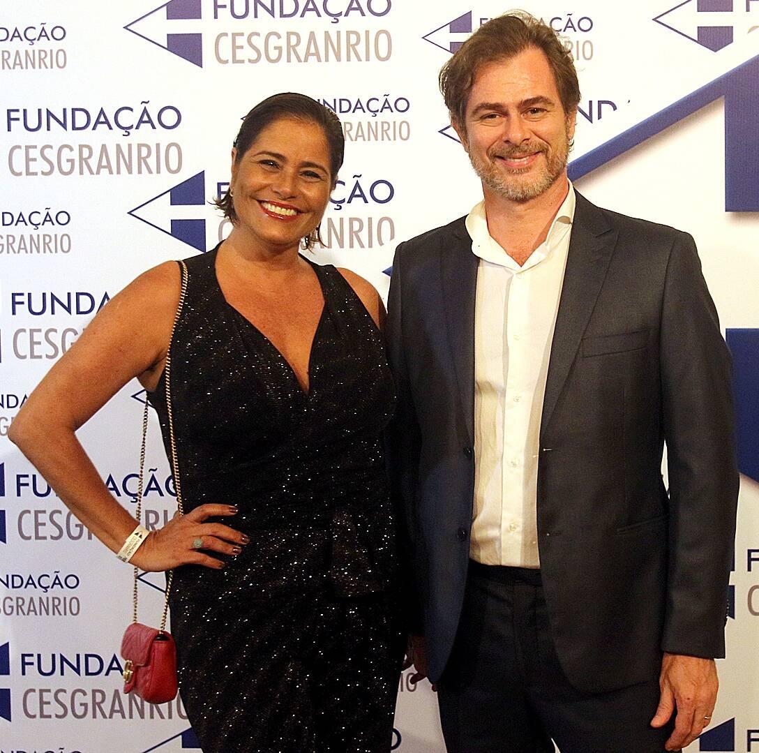 O casal Valéria Alencar e João Vitti /Foto: Eny Miranda