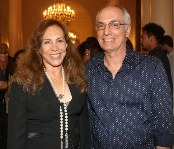 Arlete Salles e Alexandre Barbalho
