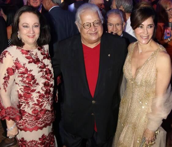 Beth Carlos, Alberto Serpa e Christiane Torlono
