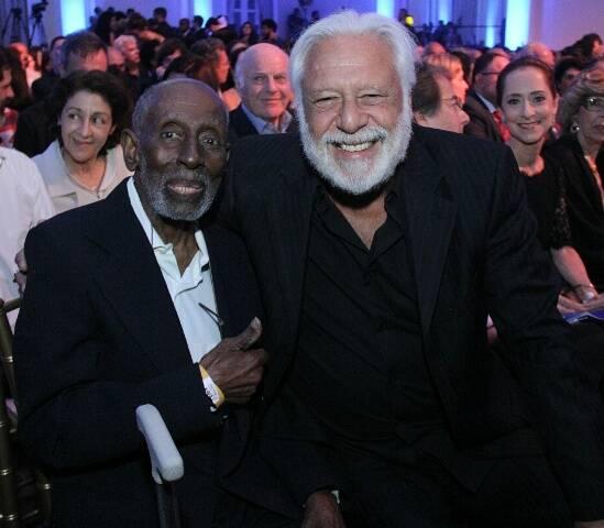 Nelson Sargento e Antônio Fagundes