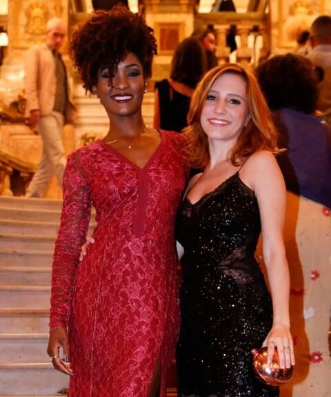 Erika Januza e Lorena Comparato