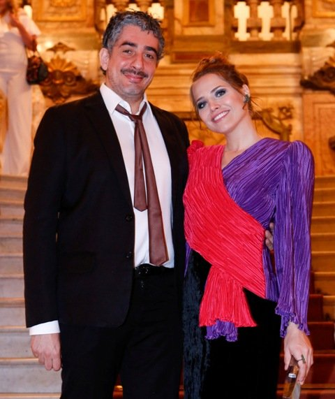 Letícia Colin e Michel Melamed