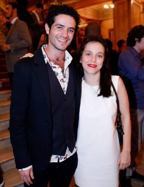 Vinícius Oliveira e Sara Antunes