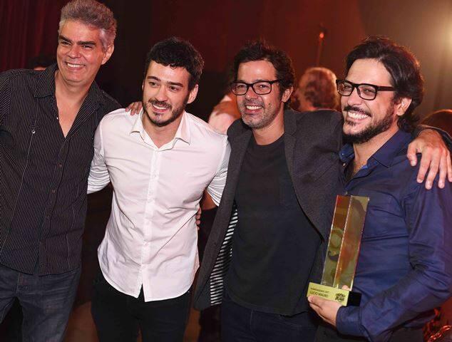 Nizo Neto, Marcos Veras, Bruno Mazzeo e Lúcio Mauro Filho