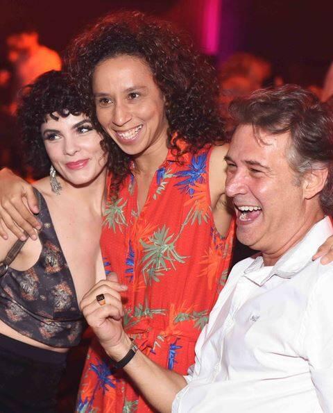 Renata Ricci, Thalita Carauta e Nelson Freitas