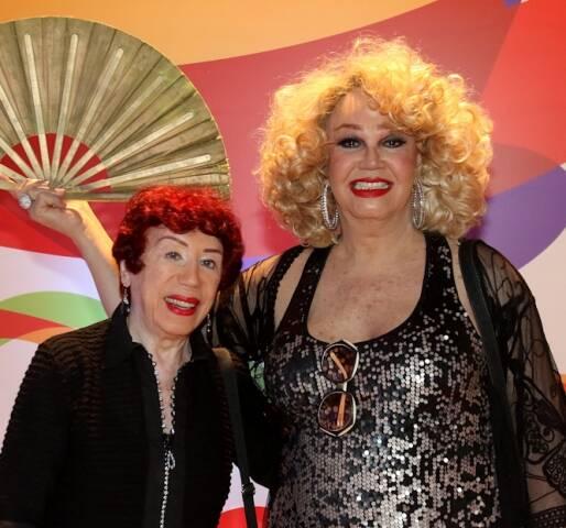 Berta Loran e Jane Di Castro