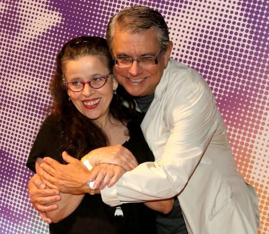 Cristina Pereira e Flávio Marinho