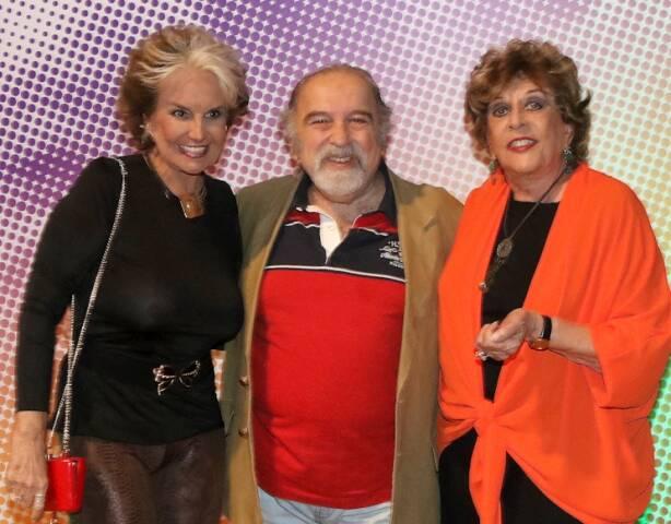 Iris Bruzzi, Castrinho e Carmem Verônica