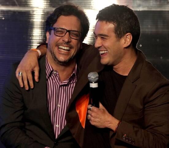 Lúcio Mauro Filho e Marcos Veras