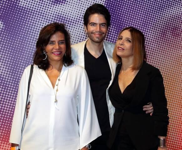 Narcisa Tamborindeguy, Luiz Fernando Coutinho e Liège Monteiro