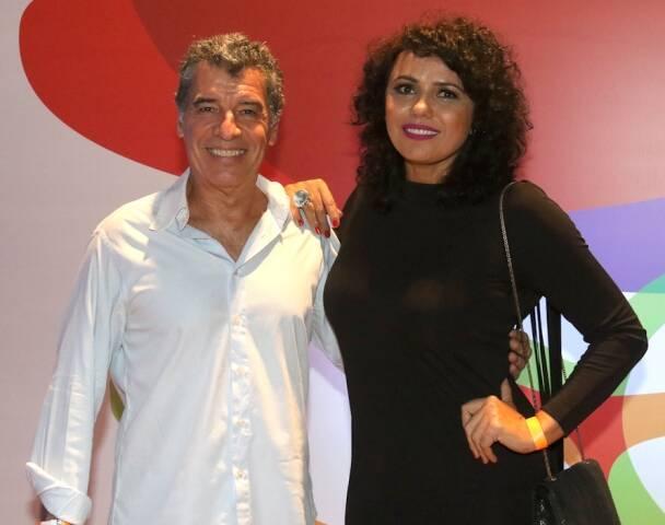 Paulo Betti e Dadá Colho