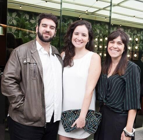 Herman Bessler, Letícia Magalhães e Luciana Rosas