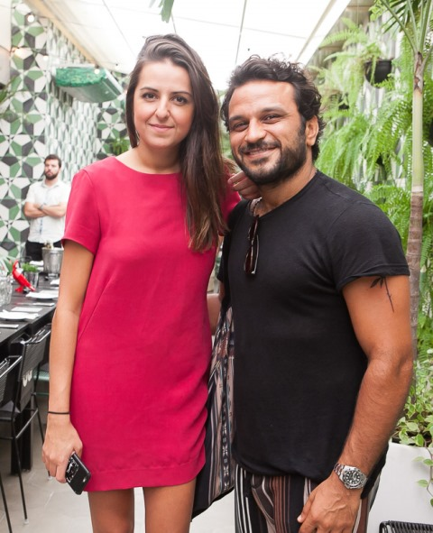 Luciana Morais e Pedro Salomão