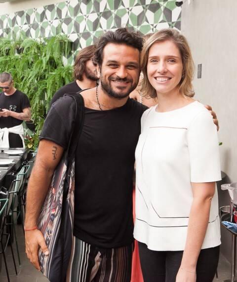 Pedro Salomão e Melina Dalboni