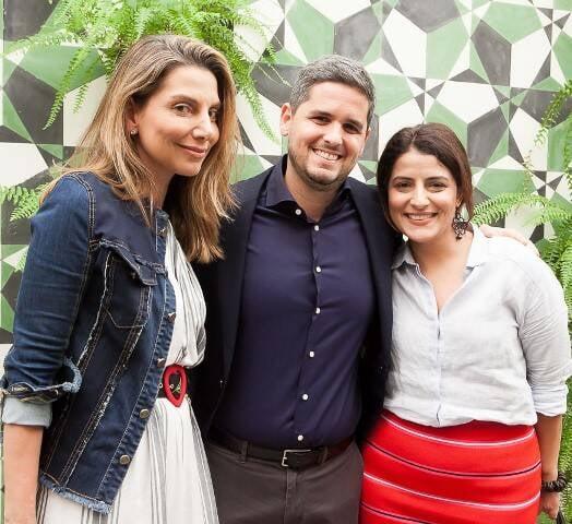 Renata Reis, Rony Meisler e Renata Izaal