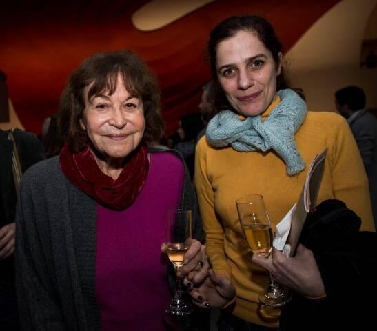 Claudia Andujar e Mariana Lacerda