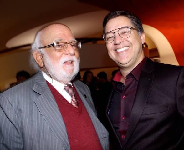 Danilo Santos e Eduardo Saron