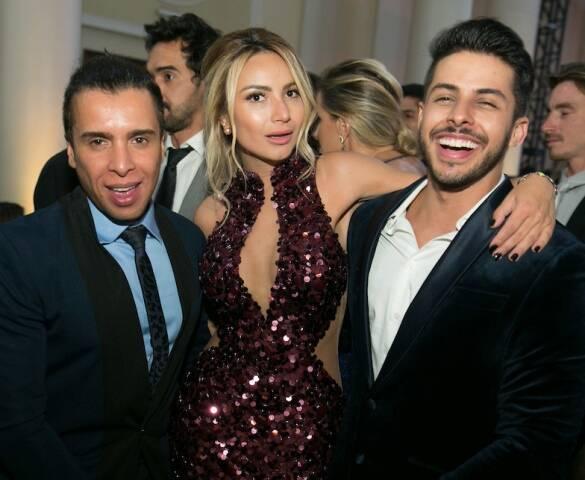 G Junior, Kelly Winston e Rodrigo Coelho
