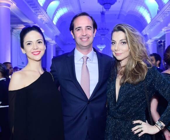 Luciana Malavassi, André Beck e Renata Reis