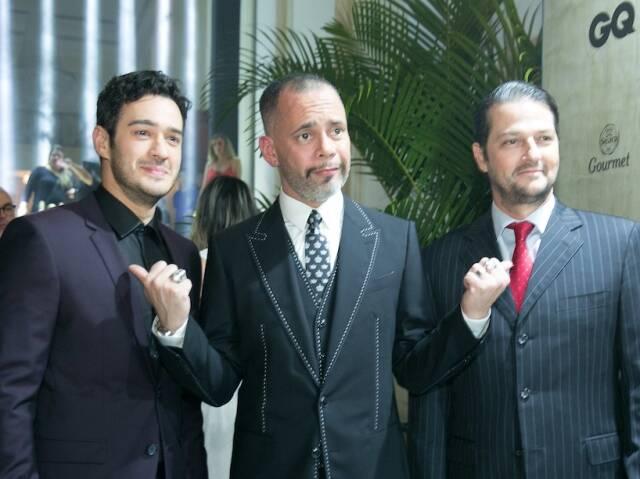 Marcos Veras, Ricardo Cruz e Marcelo Serrado