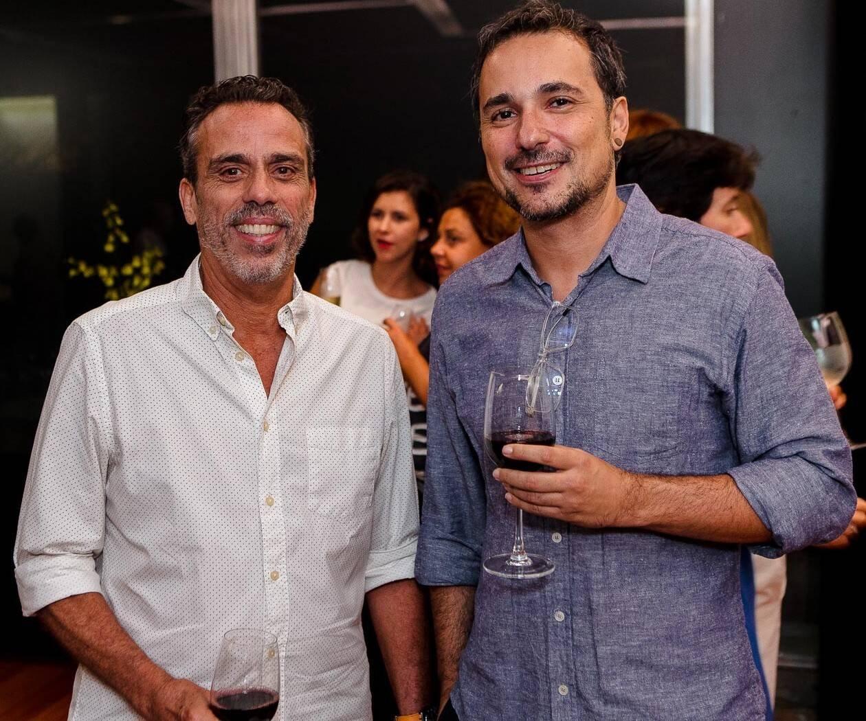 Paulo Villela e Milton Bittencourt  /Foto: Bruno Ryfer