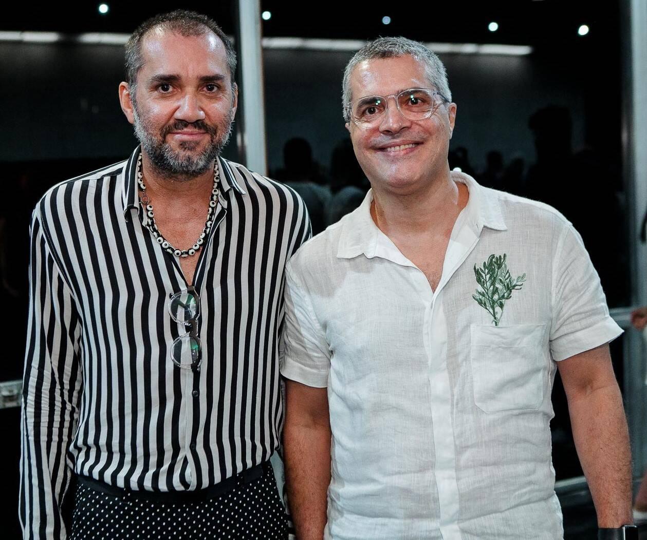 Beto Silva e Claudio Cadeco  /Foto: Bruno Ryfer