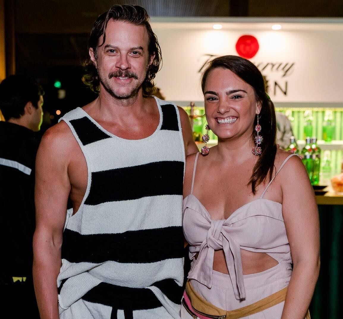 Casey Spooner e Maria Antonia Bocayuva /Foto: Bruno Ryfer