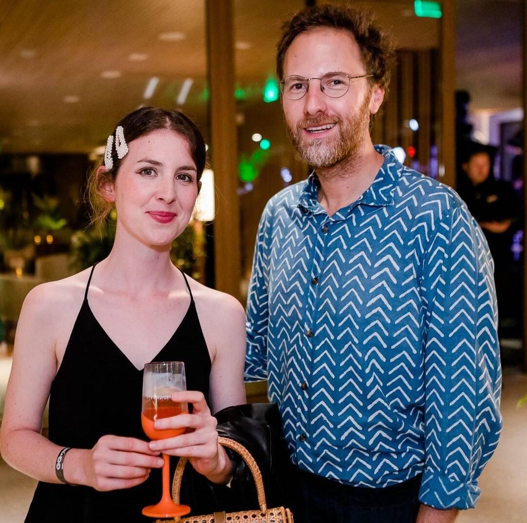 Lucinda Elliott e Daniel Gorin /Foto: Bruno Ryfer