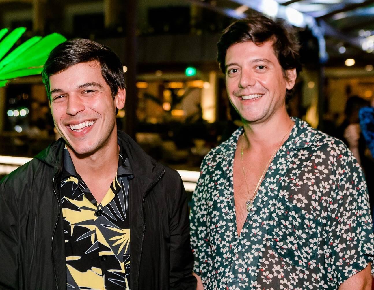 Luis Guilherme Rodrigues e Pedro Rosman /Foto: Bruno Ryfer
