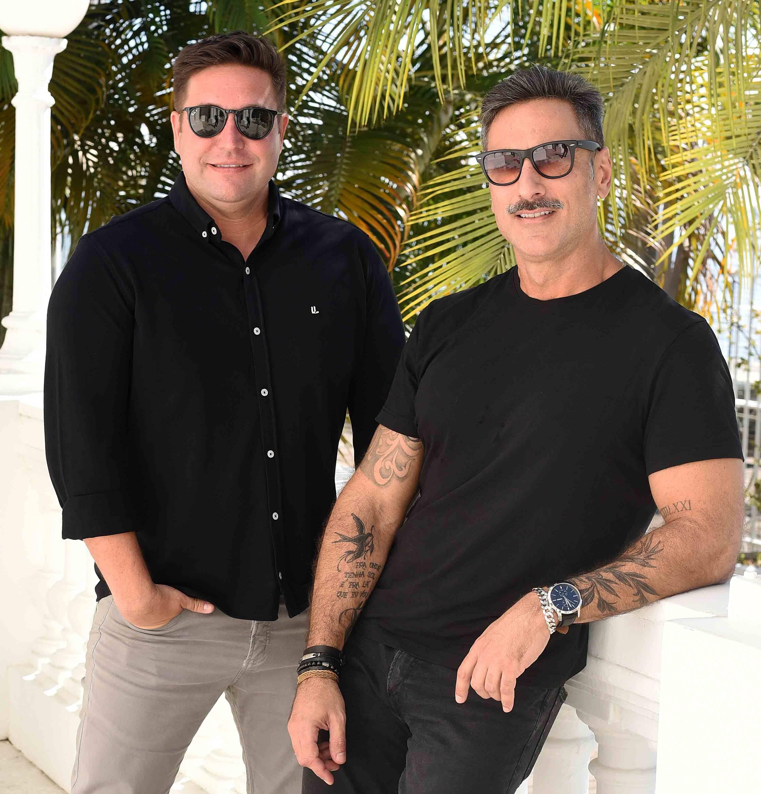 Alexandre Lobo e Fabio Cardoso /Foto: Ari Kaye