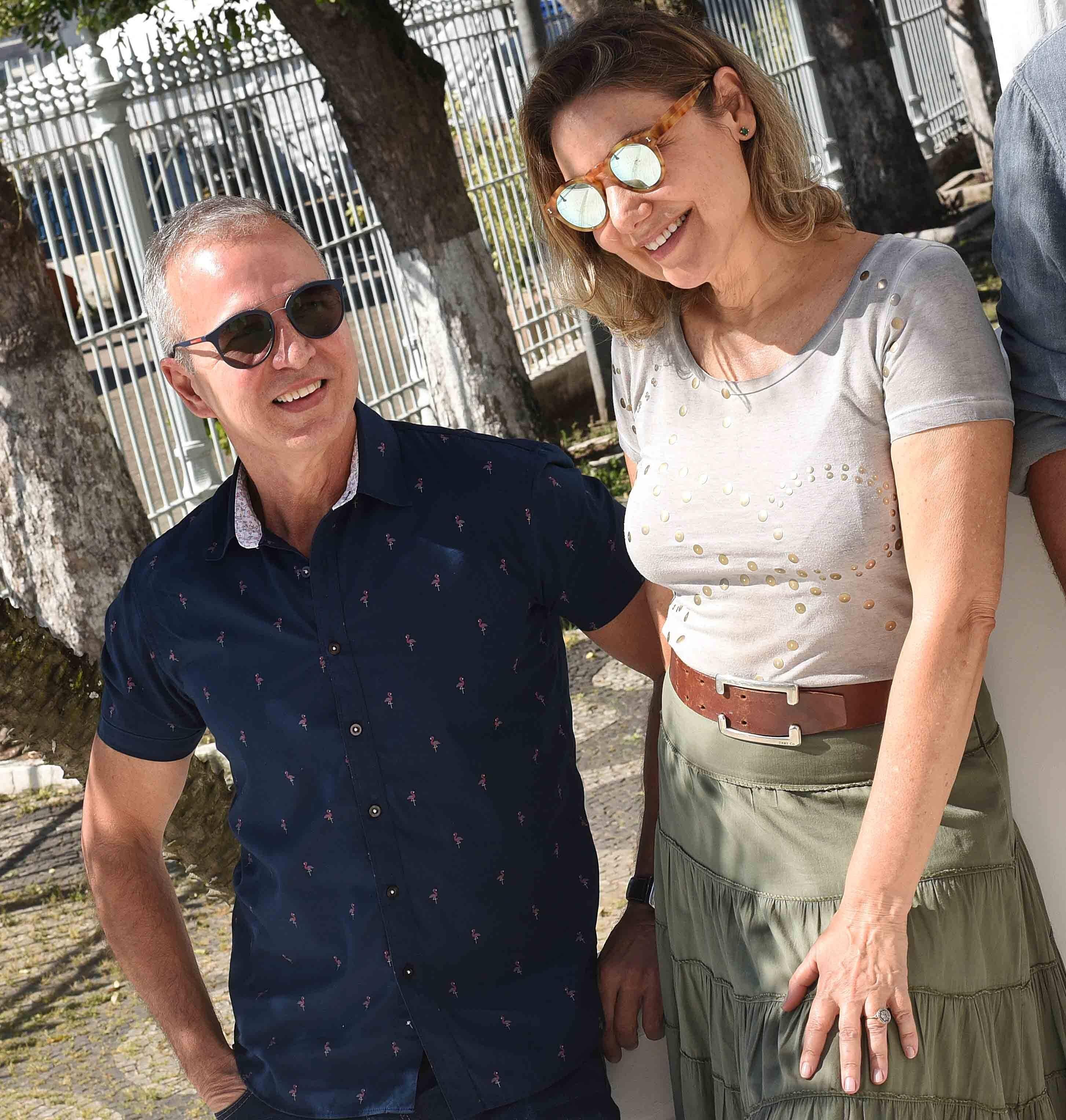 Jorge Delmas e Marcia Müller /Foto: Ari Kaye