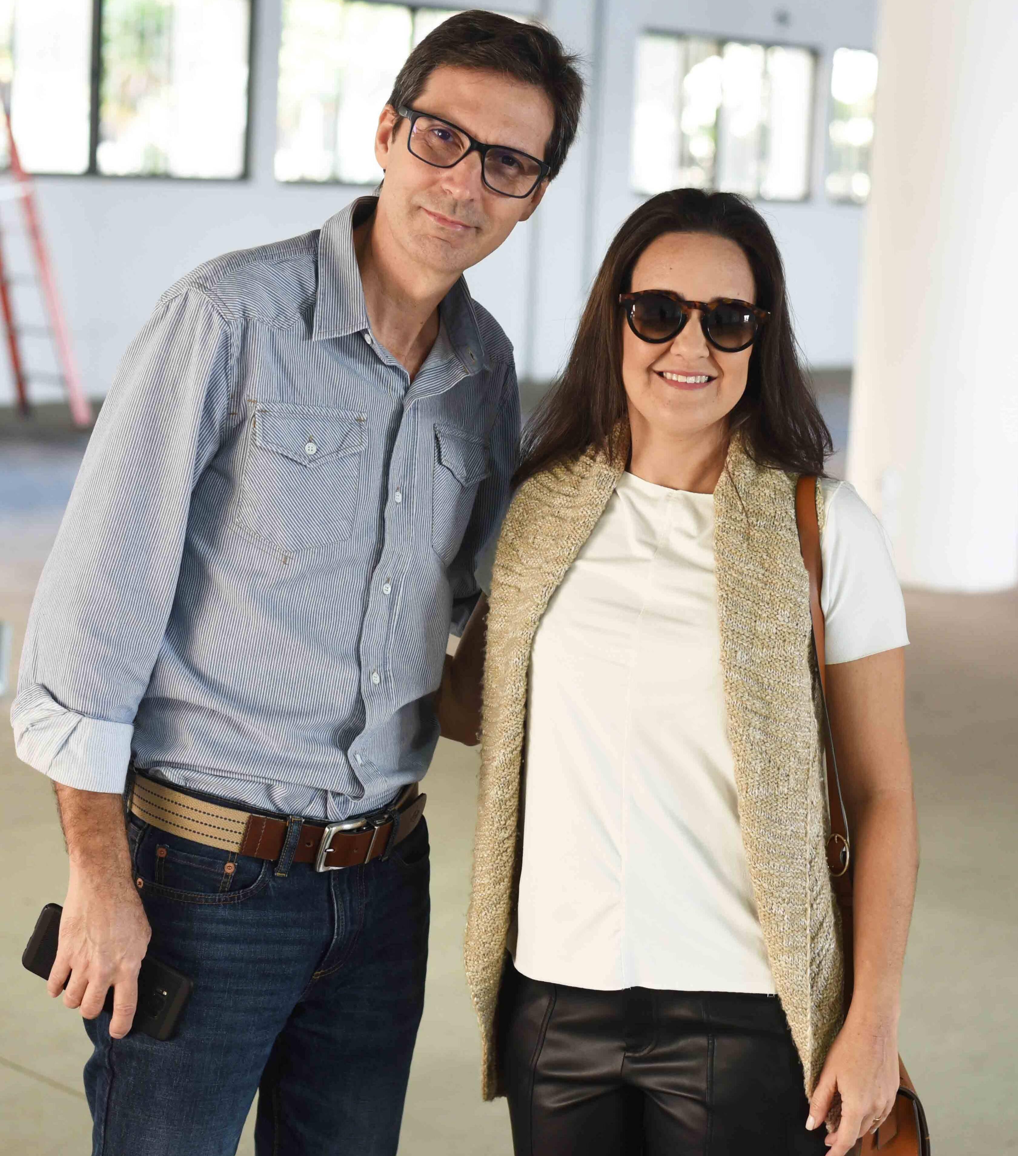 Mauro Teixeira e Lia Lamego /Foto: Ari Kaye