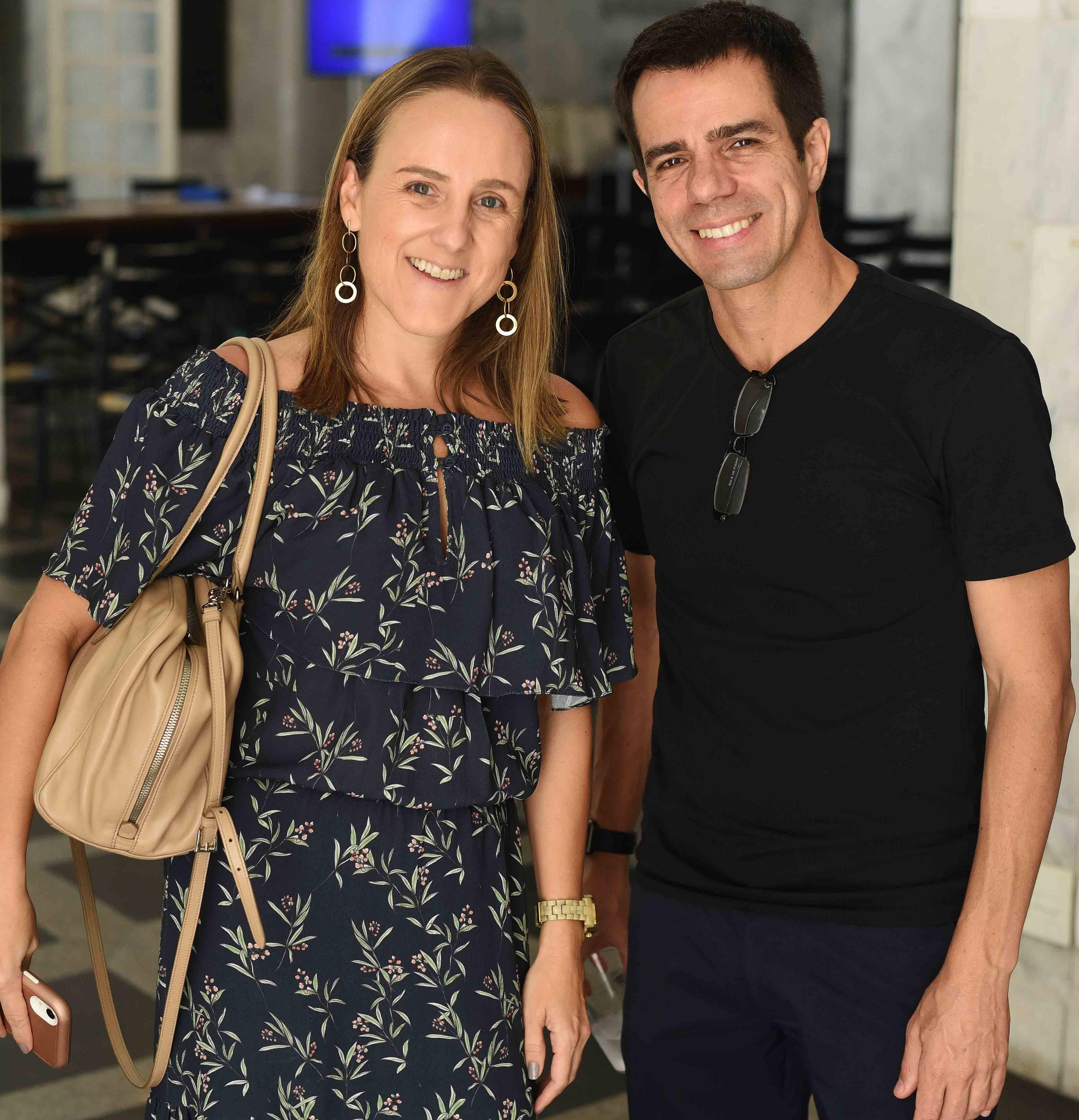 Roberta Nicolau e Luis Fernando Amo /Foto: Ari Kayerim