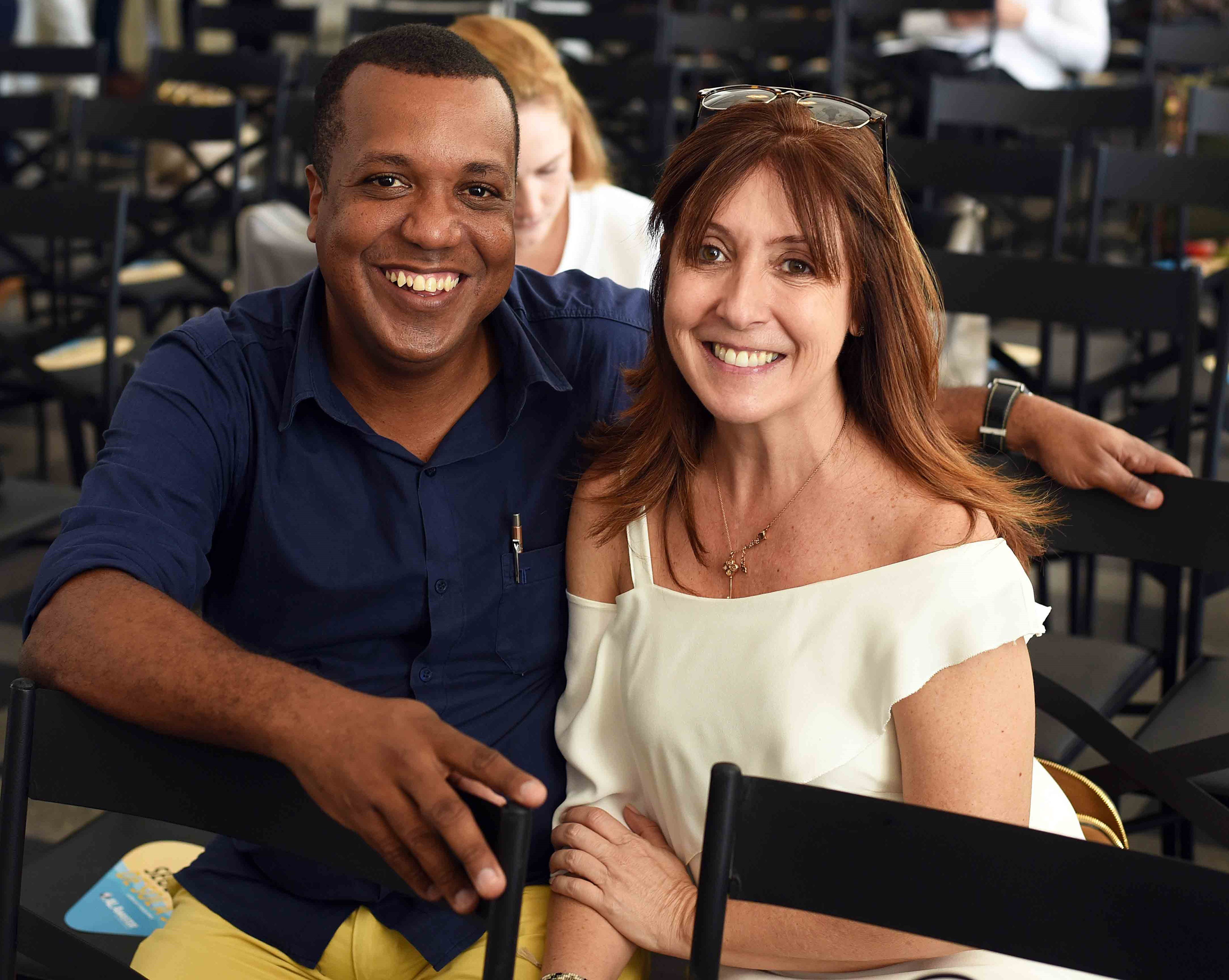 Sergio Novaes e Carmen Mouro /Foto: Ari Kaye