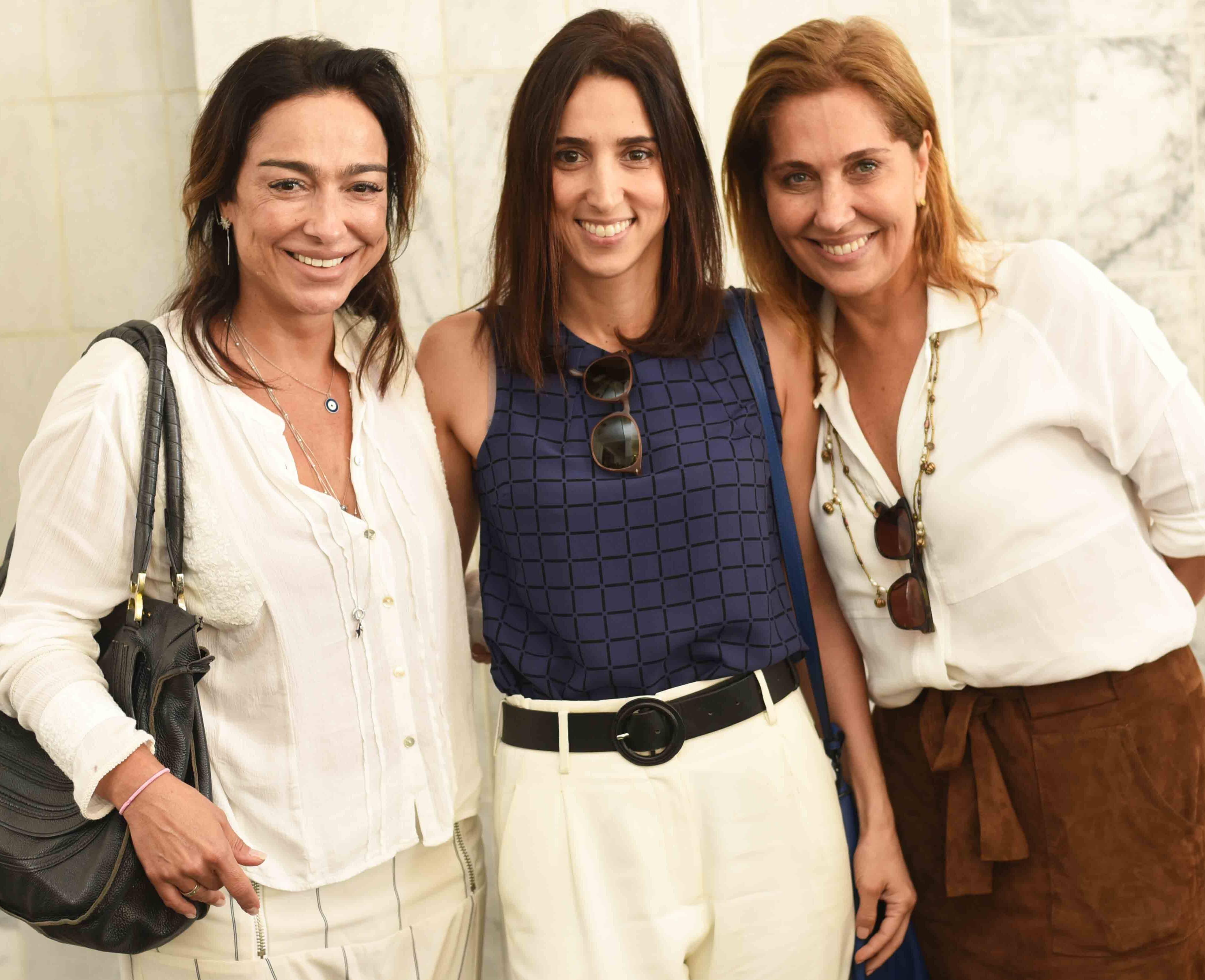 Ana Paula Iespa, Isabella Lucena e Bebel Sampaio /Foto: Ari Kaye
